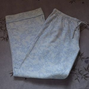 "Limelight Intimates & Sleepwear - ""He loves me, He loves me not"" Flannel Pants"